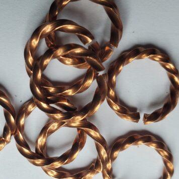 Copper: Twisted Square